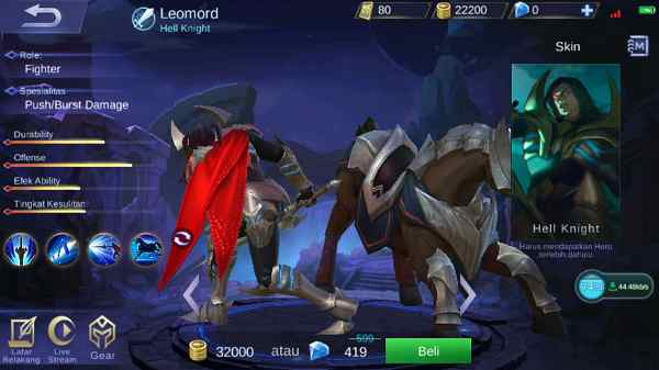 Review Hero Leomord Mobile Legend Terbaru