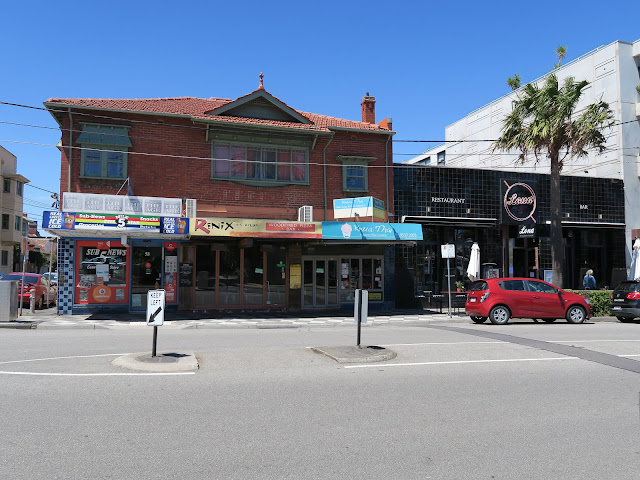 Restaurants down St Kilda's beach, Melbourne