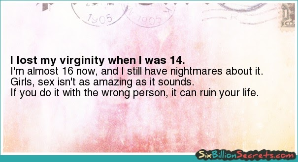 Is It Bad To Lose Your Virginity At Age 14