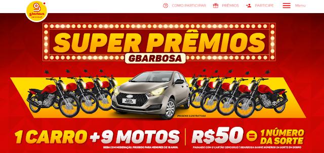 Promoção GBarbosa Super Prêmios
