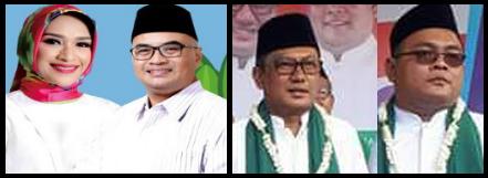 Dua pasang calon Bupati dan wakil Bupati Kabupaten Probolinggo 2018