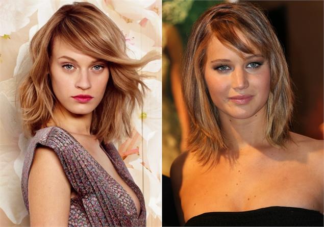 Moda e fashion: Tagli capelli scalati: dal salone al red ...