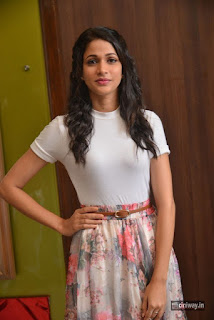 Lavanya Tripathi Stills at Srirastu Subhamastu Big Ticket Launch