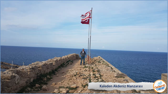 Kaleden-Akdeniz-Manzarasi-Girne