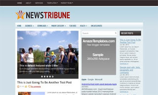 NewStribune Blogger Template