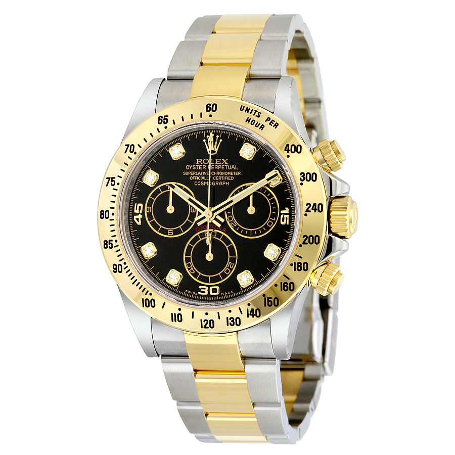 Rolex-Daytona-Replique-Montre-Black-Diamond-Dial