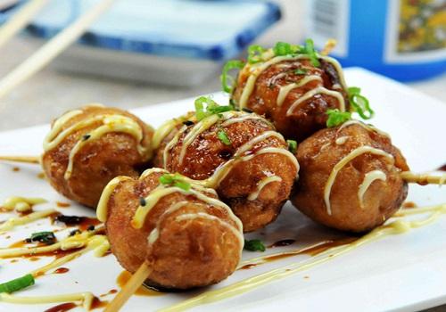Resep Kue Jepang Takoyaki: Resep Takoyaki Isi Sosis Sapi Ala Jepang