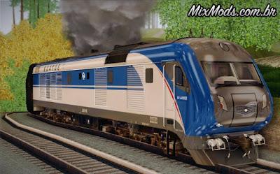 trem locomotiva gta sa