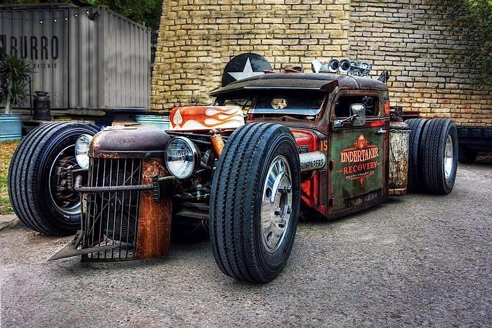 rat rod cars best - photo #33