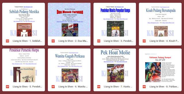 Download Cerita Silat Karya Liang Yusheng pdf