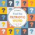 """FIND THE PATRIOTIC WORD"""" contest Win Cool Stuff"""
