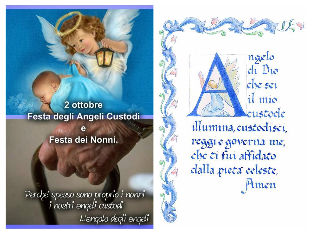 Famoso Medjugorje tutti i giorni: 2 OTTOBRE FESTA DELL'ANGELO CUSTODE E  DN54