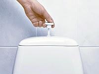 Bir tuvaletin ya da klozetin sifonunu çekmek