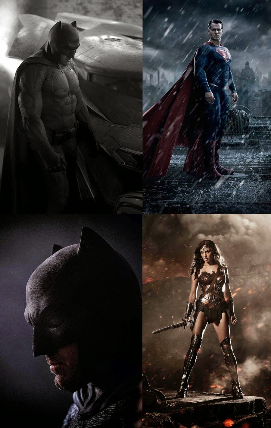 Batman Superman and Wonder Woman DC Trinity