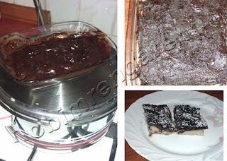 Bitter Çikolatalı Kestane Tatlısı
