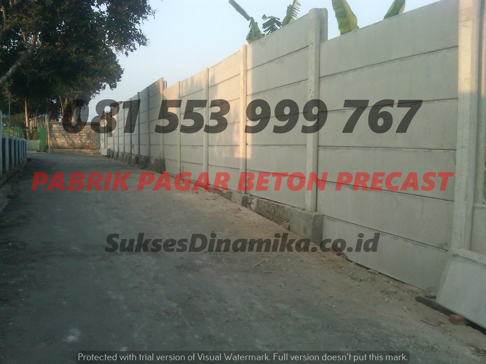 Harga Pagar Beton Precast Terpasang Gresik, Kelemahan Pagar Panel Beton