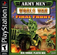 Army Men - World War - Final Front   - PS1 - ISOs Download