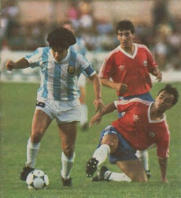 Argentina y Chile en Copa América 1989, 2 de julio