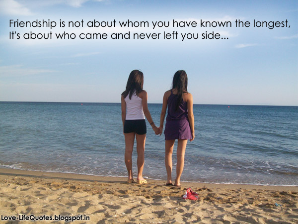 Friendship Quotes: Beach Friendship Quotes
