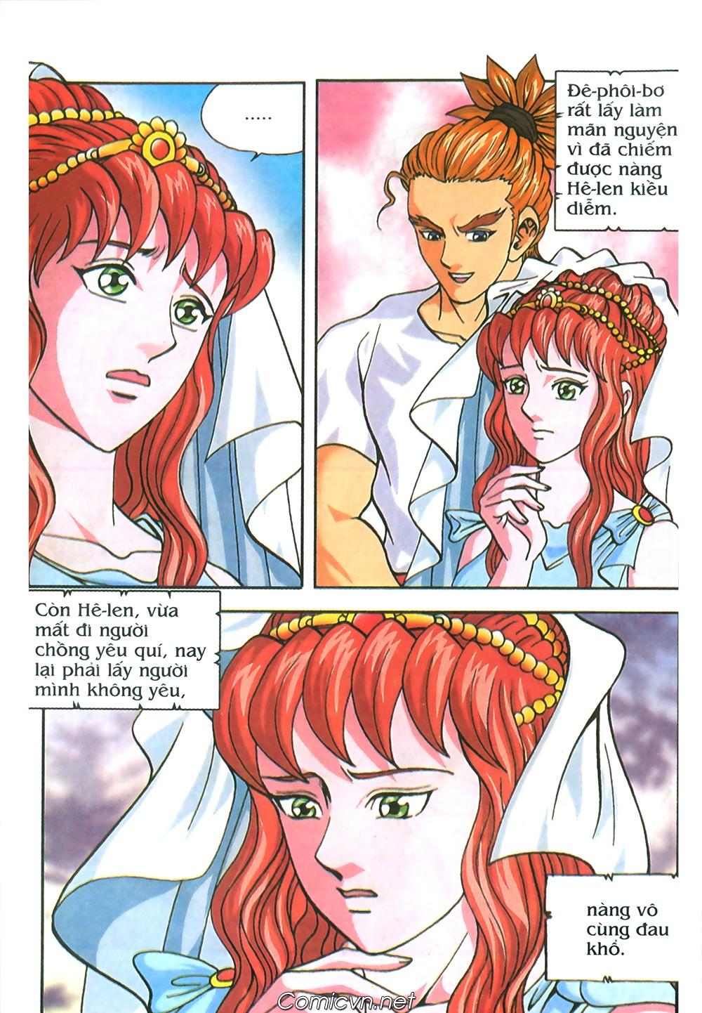 Thần Thoại Hy Lạp Màu - Chapter 67: Nỗi buồn của nàng Helen - Pic 22