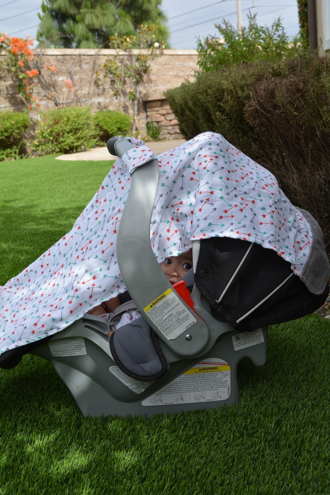The Itzy Ritzy Infant Car Seat Canopy is also a must buy for any parent. The soft breathable muslin material is lightweight and drapes over car seats ... & being MVP: Itzy Ritzy x Babies