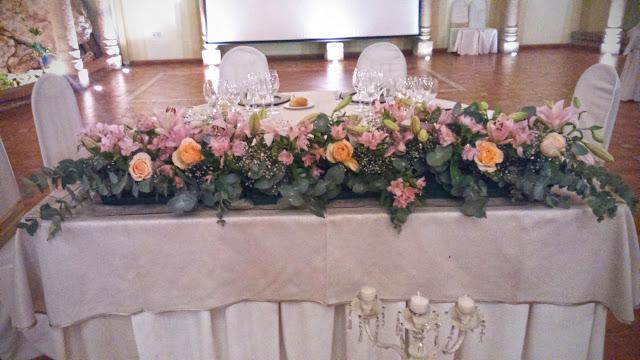 decoracion floral restaurante