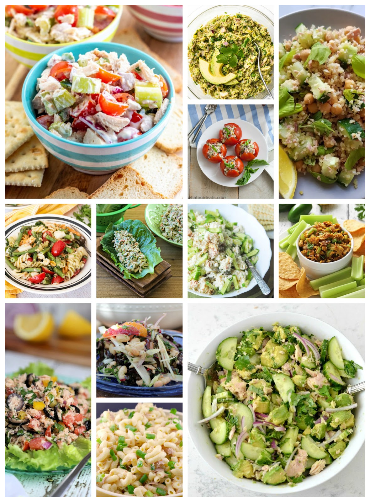 Are you looking for some canned tuna recipes? Canned tuna can be used for so much more than just tuna fish sandwiches! Pull that tuna out of your pantry and let this collection of tuna recipes inspire you! #tuna