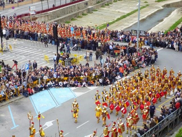 Desfile de los Manaires. Girona