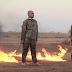 Dans une épouvantable vidéo diffusée sur internet, Daesh brûle vif deux soldats turcs ~ DJN®