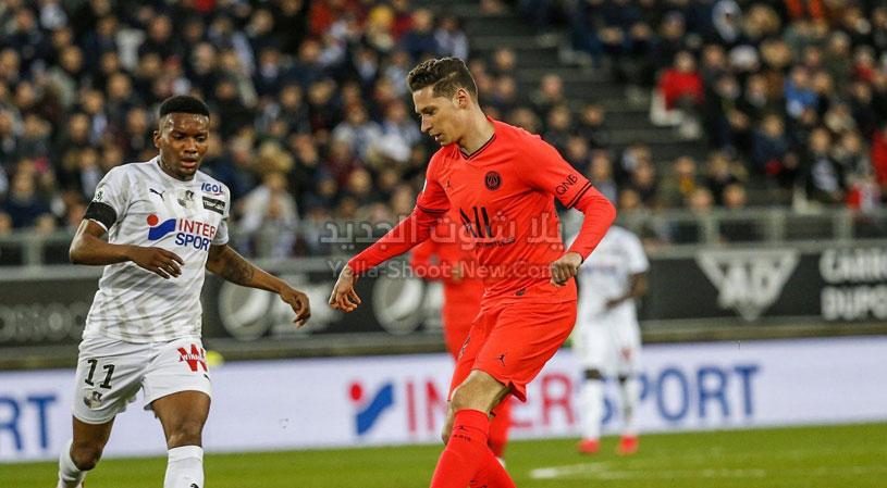التعادل الاجابي المثير يحسم موجهة باريس سان جيرمان وأميان في الدوري الفرنسي
