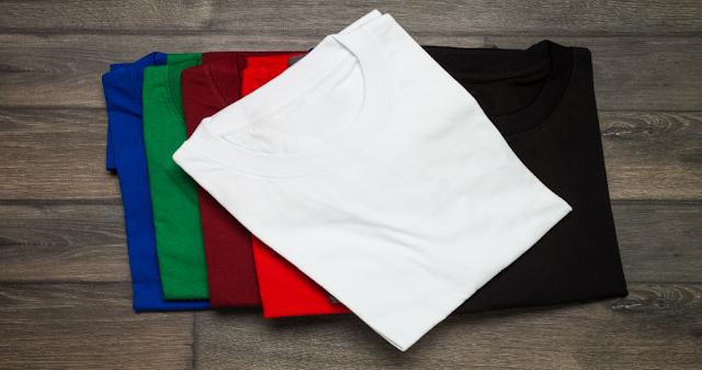 Kaos Polos Kualitas Terbaik Terbuat dari 5 Bahan Ini