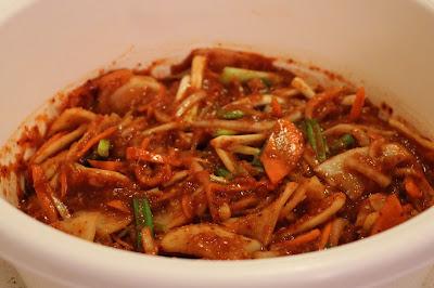 Cách làm món Kimchi ngon