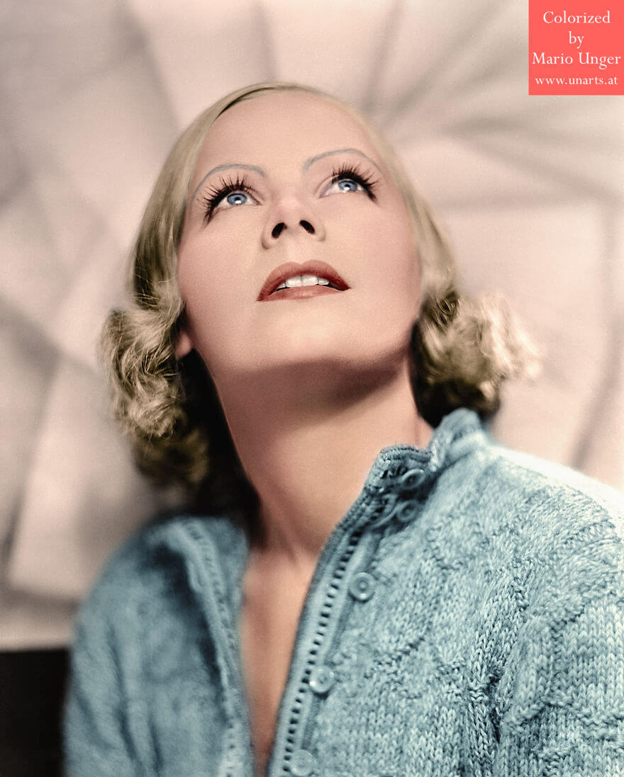 Artist Colorizes Black & White Pictures Of Famous People And It's Breathtaking