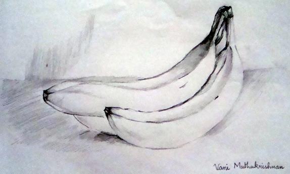 Lukisan Buah Buahan Pensil Cikimm Com