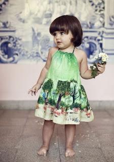 baju batik anak perempuan trendy