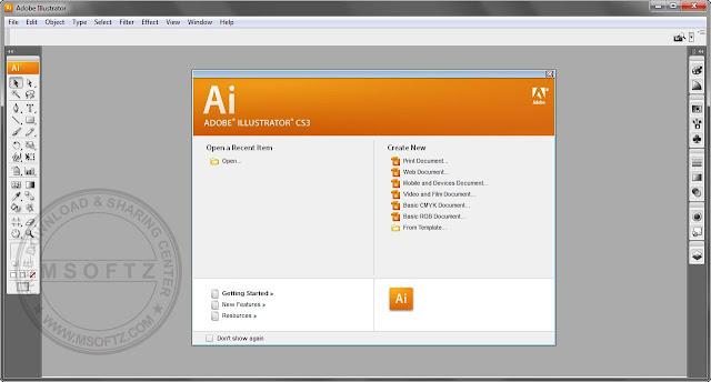 adobe illustrator cs3 portable free download full version