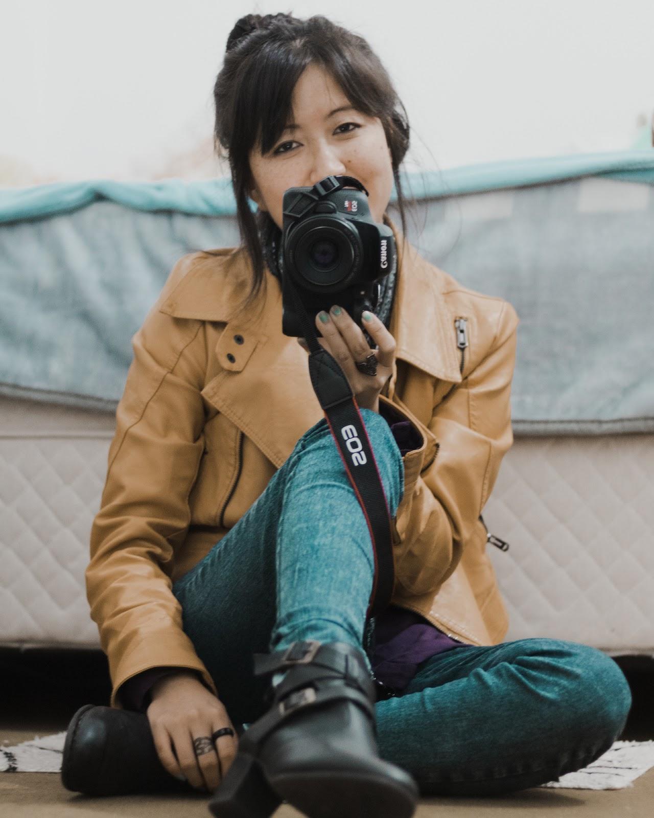 fotografando poses estranhas