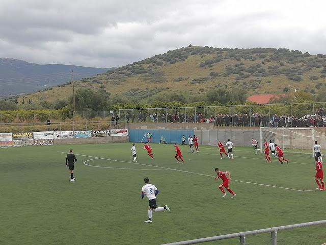 Ισοπαλία (νίκης) 1-1 για το Ναύπλιο 2017 απέναντι στον Ερμή Κιβερίου