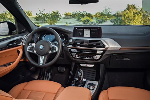 Interior BMW X3 2018