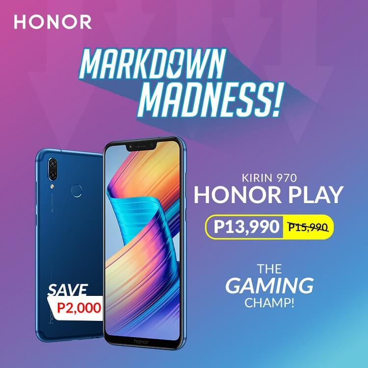 Honor Announces up to Php2,000 Price Drop on Select Smartphones