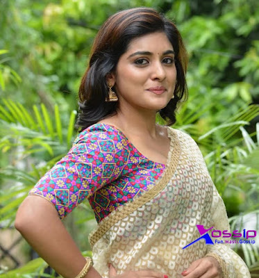 niveda thomas latest hot photos in saree mallufun