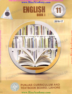 ENGLISH BOOK  I - INTER CLASSES