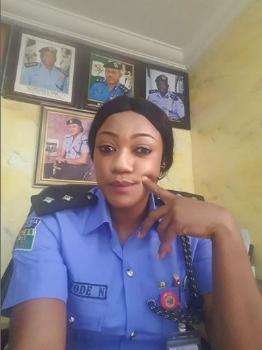 Meet ASP Nkeiruka Nwode, Beautiful Female Police Officer