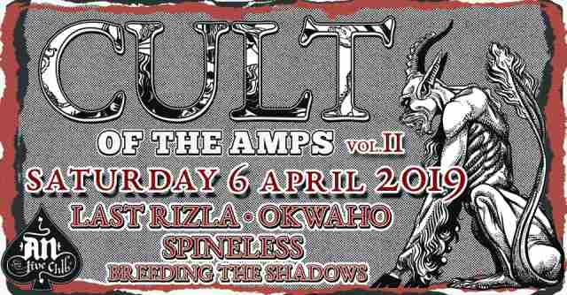 CULT OF THE AMPS vol. II: Οι ώρες εμφάνισης των συγκροτημάτων