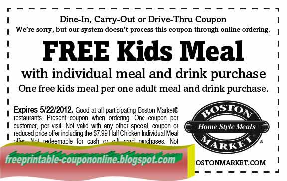 Printable coupon boston store