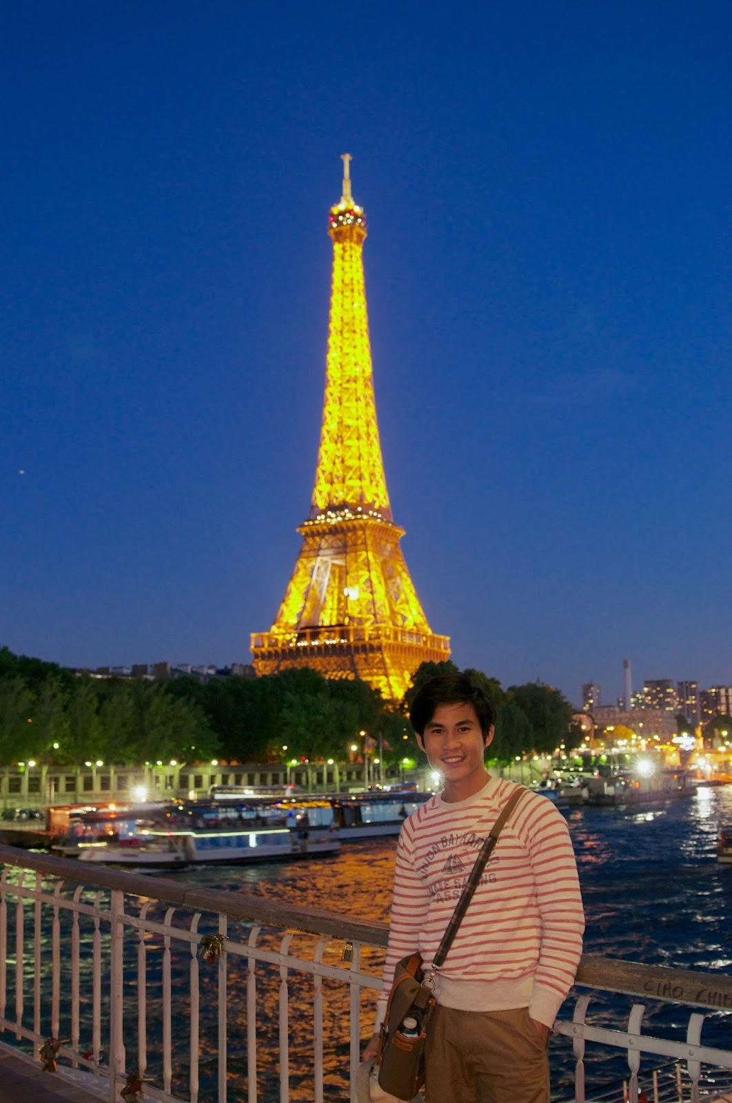 paris perancis travelling eiffel menara tower tempat wisata