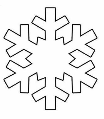 Dibujos Para Colorear De Copos De Nieve En Navidad Trato O