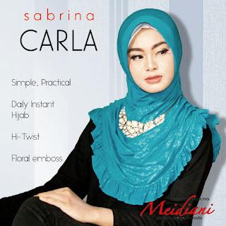 Jilbab Kantor Sabrina Carla