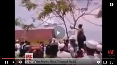 KISAH NYATA ; WARGA HEBOOH !!! Video Detik-Detik JENAZAH TIBA-TIBA Terbang Tunjukkan SIAPA PembunuhNYA .'SUBHANALLAH'