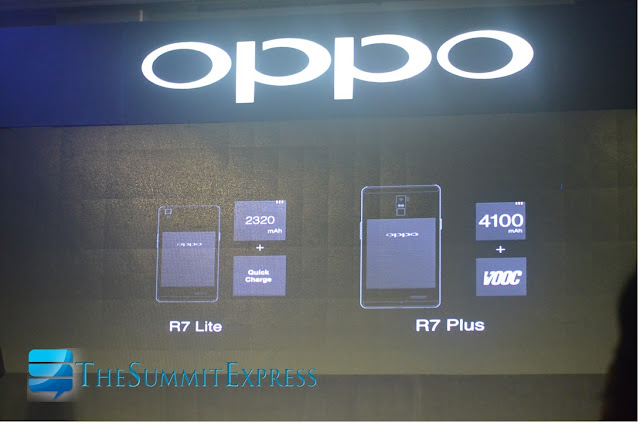 OPPO R7 Plus is backed by 4100mAH battery and VOOC technology